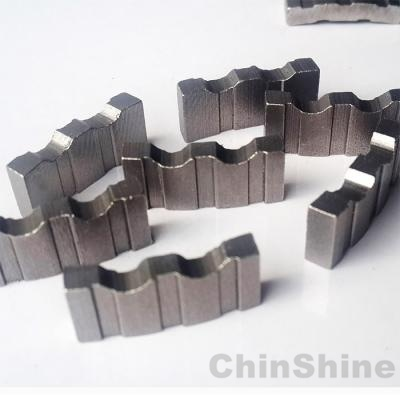 Turbo diamond core drill bit segment